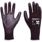 Guantes de seguridad Janfer Ecocontact nylon talla 8 negro 2 unidades
