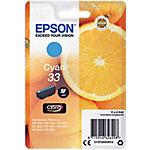 Cartucho de tinta Epson original 33 cián c13t33424012