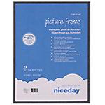 Marco portafotos Niceday Negro 400 (a) x 300 (h) mm 2 unidades