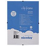 Marco clip Niceday A5 transparente 2 unidades