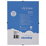 Marco clip Niceday Transparente 210 (a) x 150 (h) mm 2 unidades