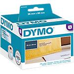 Etiqueta de dirección DYMO S0722410 8,9 (a) x 3,6 (h) cm transparente 260 etiquetas