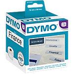Etiqueta para carpetas colgantes DYMO 99017 5 (a) x 1,2 (h) cm blanco 220 etiquetas