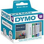 Etiquetas lomo archivador DYMO 99018 3,8 (a) x 19 (h) cm blanco 110 etiquetas