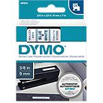 Cinta para rotuladora DYMO 40914 azul sobre blanco 9mm (a) x 7m (l) 7 m