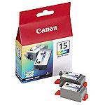 Cartucho de tinta Canon original bci 15c 3 colores 2 unidades