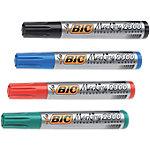 Rotulador permanente BIC Marking 2300 punta biselada colores surtidos 4 unidades