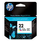 Cartucho de tinta HP original 22 3 colores c9352ae