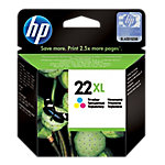 Cartucho de tinta HP Original 22XL 3 Colores C9352CE