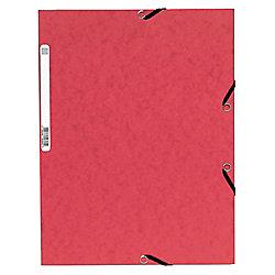 Carpeta de gomas Mariola Folio cuero
