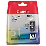 Cartucho de tinta Canon original cl 51 3 colores