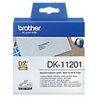 Etiqueta de dirección Brother DK 11201 9cm (a) x 9cm (h) x 29m (l) blanco 400 etiquetas