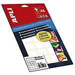 Etiqueta adhesiva APLI 01861 Blanco 990 etiquetas por paquete