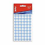 Etiqueta adhesiva redonda APLI Azul 315 etiquetas por paquete