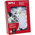 Etiquetas colgantes APLI 500 unidades