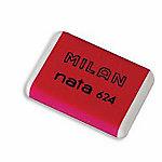 Goma de borrar MILAN Nata 624 blanco 25 unidades
