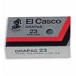Grapas galvanizadas El Casco 30 hojas gris 1000 grapas