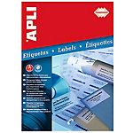 Etiqueta APLI HD Transparente 20 etiquetas por paquete