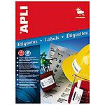 Etiqueta multifunción APLI 1228 Blanca 20 etiquetas por paquete
