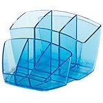 Organizador sobremesa CEP Ice Blue 580 i azul translúcido 8 Compartimentos 15,8 x 14,3 x 9,3 cm