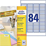 Etiqueta láser mini AVERY Zweckform Blanco 2100 etiquetas por paquete