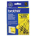 Cartucho de tinta Brother original lc1000y amarillo