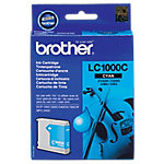 Cartucho de tinta Brother original lc1000c cian