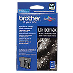 Cartucho de tinta Brother original lc1100hybk negro