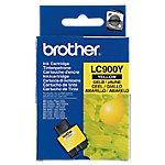 Cartucho de tinta Brother original lc900y amarillo