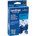 Cartucho de tinta Brother original lc980c cian