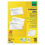 Tarjeta de visita Sigel LP795 liso 225 g