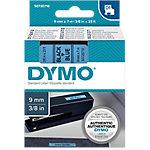 Cinta para rotuladora DYMO 40916 negro sobre azul 19mm (a) x 8,8cm (h) x 7m (l)