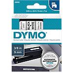 Cinta para rotuladora DYMO D1 negro sobre blanco 9mm (a) x 7m (l) 7 m