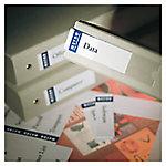 Etiqueta para archivador Office Depot NDA75 Blanco 20 etiquetas por paquete