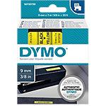 Cinta para rotuladora DYMO 40918 negro sobre amarillo 7m (l)