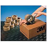Precinto de polipropileno 3M Silenciosa marrón 43 micras 50 mm x 132 m 6 rollos