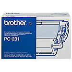 Cinta para fax Brother original PC 201 negro