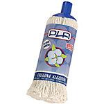 Fregona PLA algodón blanco