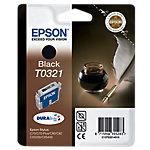 Cartucho de tinta Epson original t0321 negro c13t03214010