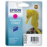 Cartucho de tinta Epson original t0483 magenta c13t04834010