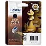 Cartucho de tinta Epson original t0511 negro c13t05114010