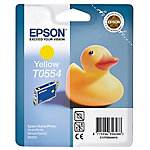 Cartucho de tinta Epson original t0554 amarillo c13t05544010