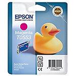 Cartucho de tinta Epson original t0553 magenta c13t05534010