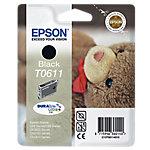 Cartucho de tinta Epson Original T0611 Negro C13T06114010
