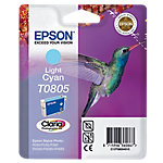 Cartucho de tinta Epson original t0805 cian claro c13t08054011