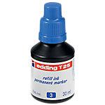Frasco de tinta edding T25 azul 30ml