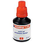 Frasco de tinta edding T25 rojo 30ml