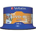 DVD grabables Verbatim 4.7 gb 50 unidades