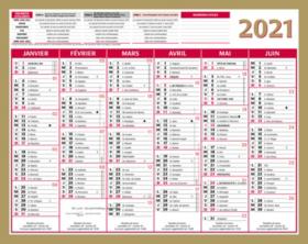 Calendrier 2020 Semaine Numerotees.Calendrier Lunor 2020 21 X 265 Cm De Viking