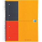 OXFORD Cahier International A4+ Ligné Orange   80 Feuilles